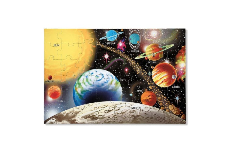 Melissa and Doug Solar System Floor Puzzle - 48 Pieces