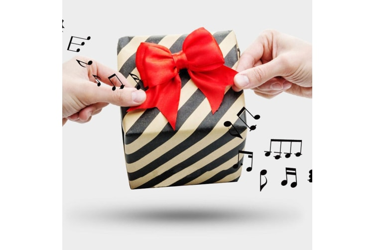Musical Gift Wrap Bow | Plays Happy Birthday!