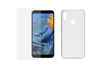 Agora GO Accessory Pack (Clear Case + Tempered Screen Protector)