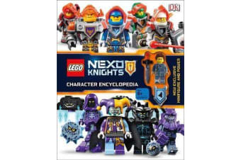 LEGO NEXO KNIGHTS Character Encyclopedia - Includes Exclusive Clay Minifigure