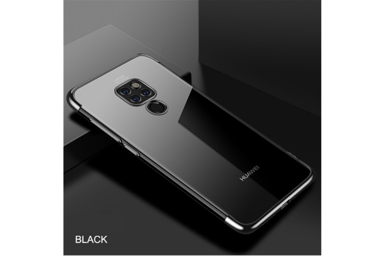 Soft Transparent Tpu Cover Ultra Thin Clear Shell For Huawei Black Huawei P20