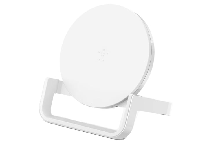 Belkin Qi Boost Up Wireless 10W Charging Stand - White (F7U052AUWHT)