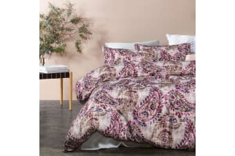 Duchess Turnable Taupe Quilt Cover Set by Big Sleep