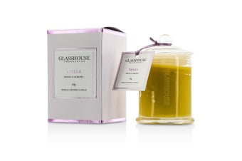 Glasshouse Triple Scented Candle - Tahaa (Vanilla Caramel) 60g