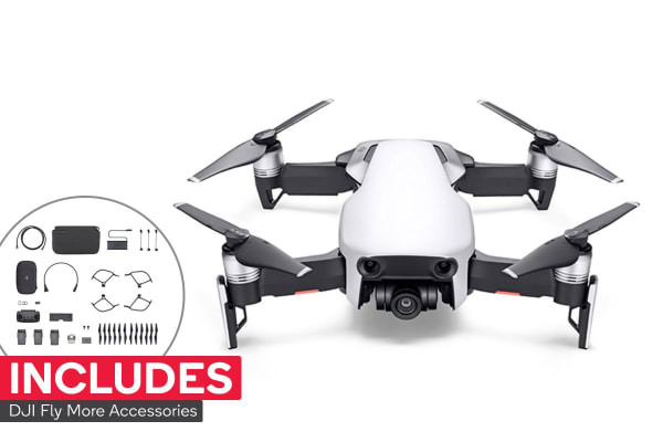 DJI Mavic Air Drone Fly More Combo - Arctic White
