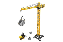 CAT Construction Apprentice Tower Crane with Forklift
