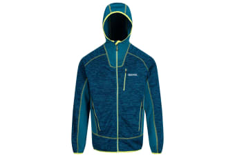 Regatta Mens Cartersville V Hooded Jacket (Sea Blue/Sea Blue) (XL)