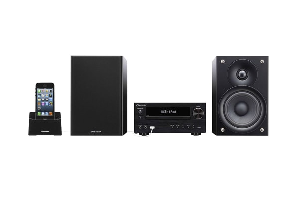 Pioneer Micro System with DAB+, USB, Bluetooth and iPod Direct Connection (X-HM51DAB-K)