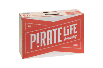 Pirate Life Throwback Beer 24 x 355mL carton