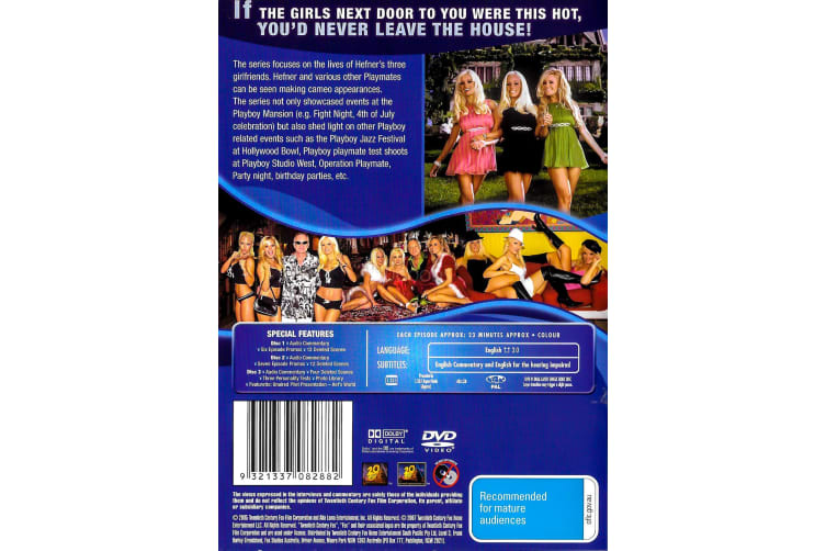 Girls of the Playboy Mansion - Season 1 - Series Region 4 DVD PREOWNED: DISC LIKE NEW