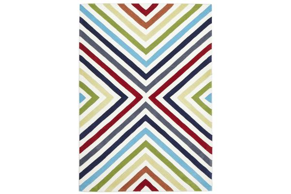 Cross Roads Design Rug Mult 225x155cm