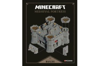 Minecraft: Exploded Builds: Medieval Fortress - An Official Minecraft Book from Mojang