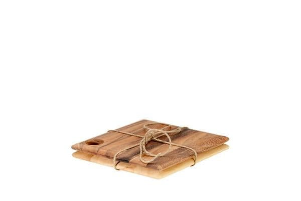 Ironwood Gourmet 25cm Cutting Boards - Set of 2