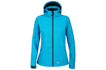 Trespass Womens/Ladies Paulina Waterproof Softshell Jacket (Bermuda Marl)