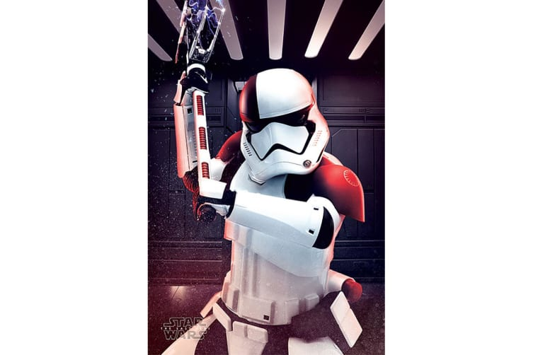 Star Wars The Last Jedi Executioner Trooper Poster (Multi-colour) (One Size)