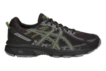 ASICS Men's Gel-Venture 6 Running Shoe (Black/Neon Lime, Size 11.5)
