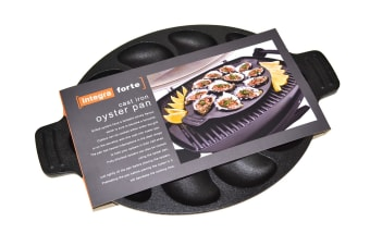 Oyster Pan Cast Iron - Holds 12