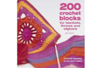 200 Crochet Blocks for Blankets, Throws and Afghans - Crochet Squares to Mix-and-Match