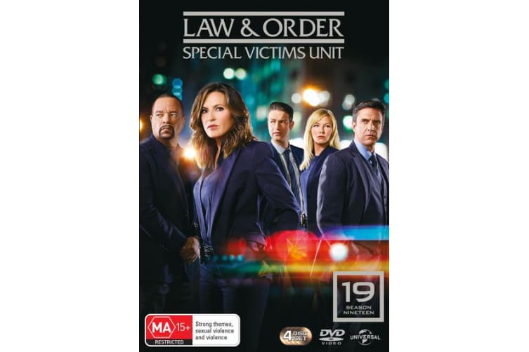 Law and Order Special Victims Unit Season 19 Box Set DVD Region 4