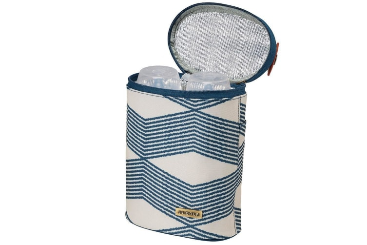 JJ Cole Collections Bottle Cooler - Navy Twine