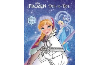Disney Frozen - Dot-to-dot