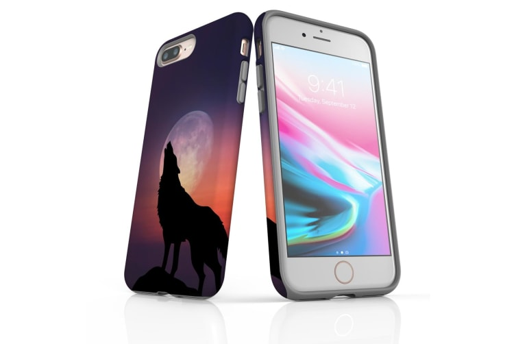 For iPhone 7 Plus Protective Case Unique Phone Cover  Wolf