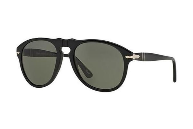 20 135 Mens Po0649 Blackgrey Lens52 Sunglasses Persol Green xshrdtCQ
