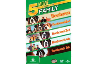 Beethoven's Dog Gone 5 Movie Collection