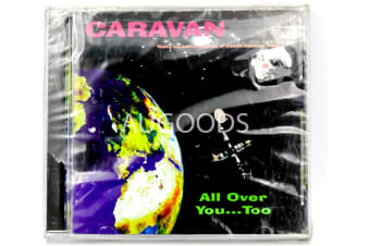 Caravan All Over You Too BRAND NEW SEALED MUSIC ALBUM CD - AU STOCK