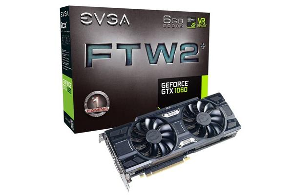 EVGA GeForce GTX1060 6GB GDDR5 FTW2 Version