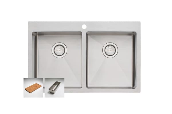 Oliveri Apollo Double Bowl Sink (AP1464)