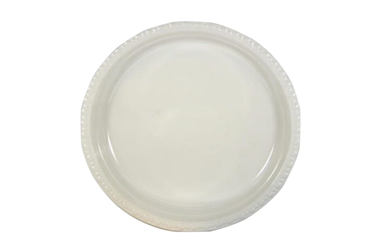 UDL 5oz Plain Plastic Dessert Bowls (Pack of 50) (White) (One Size)