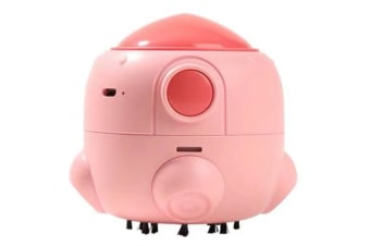 Select Mall Portable Mini USB Rechargeable Small Rocket Desktop Vacuum Cleaner Keyboard Cleaner Handheld Vacuum Cleaner-Pink