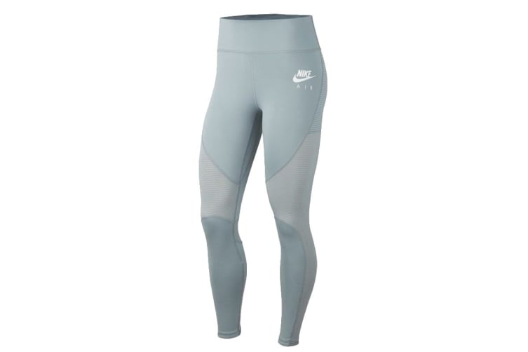 Nike Fast 7/8 Women's Running Tights (Aviator Grey/White, Size L)