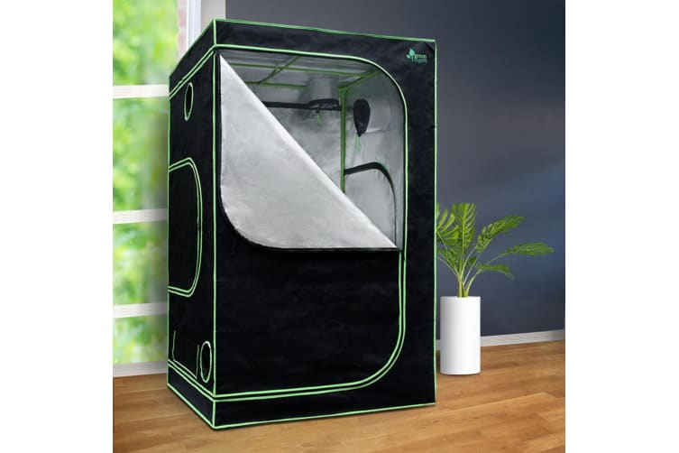 Hydroponics Indor Grow Tent Kits Reflective 1.2X1.2X2M 600D Oxford