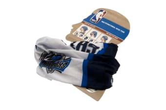 Dallas Mavericks Head Tube (White/Black/Blue)