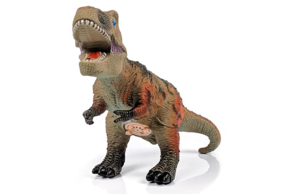 Large Vinyl T-Rex Dinosaur Figure with Sounds