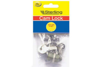 Sterling Cam Lock Hanging Pack (Silver)