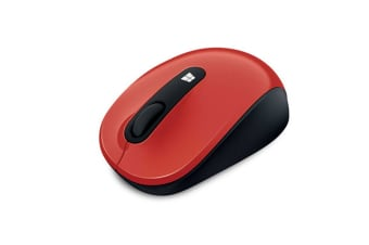 Microsoft Sculpt Mobile Mouse - Red (43U-00027)