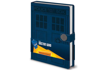 Doctor Who Premium Notebook (Blue) (One Size)
