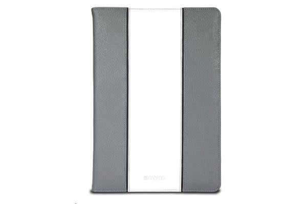 Maroo Executive Carrying Case for Tablet - Leather - Grey