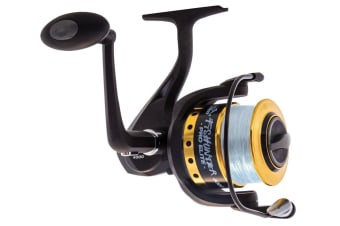 Jarvis Walker Fishunter Pro Elite 2000 Spinning Fishing Reel Spooled with Line