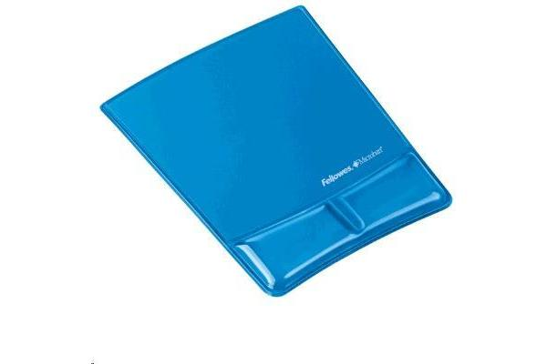 FELLOWES MOUSE PAD CLEAR BLUE AND WRIST SUPPORT GEL