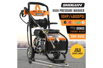 SHOGUNHigh-Pressure Cleaner Washer 10HP 4800PSI Engine With 30M Hose