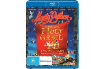 Monty Python and the Holy Grail (40th Anniversary Blu-ray Edition)