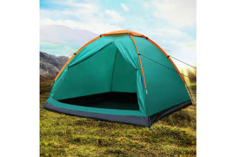 Bestway 3 Person Camping Tent Dome Family Canvas Hiking Canvas