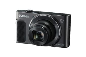 New Canon PowerShot SX620 HS 20.2MP Digital Camera Black (FREE DELIVERY + 1 YEAR AU WARRANTY)