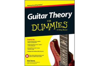 Guitar Theory For Dummies - Book + Online Video & Audio Instruction