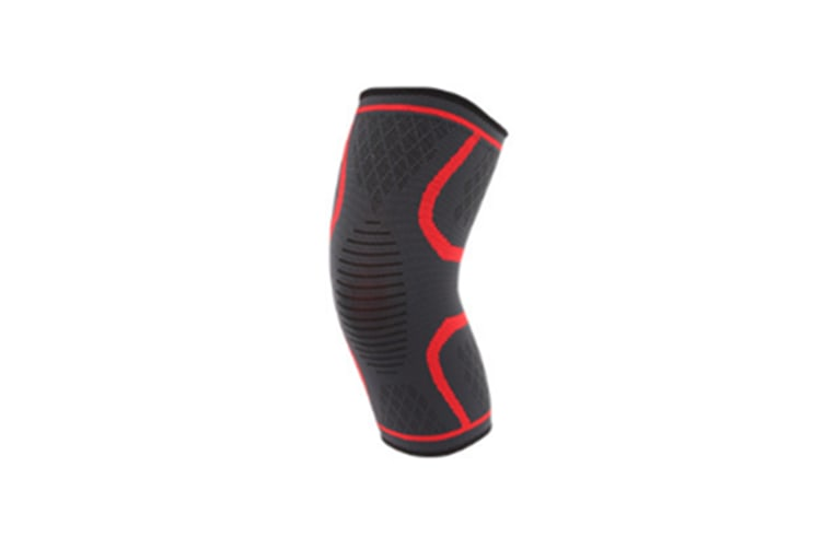 Male And Female Outdoor Sports Kneecap For Mountaineering Bodybuilding Red S