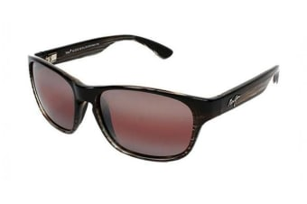 293d0de78ba5 Maui Jim Mixed Plate - Chocolate Stripe Fade (Maui Rose Polarised lens)  Unisex Sunglasses